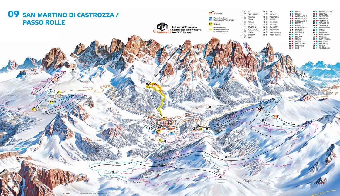 San Martino di Castrozza - Passo Rolle (270K)